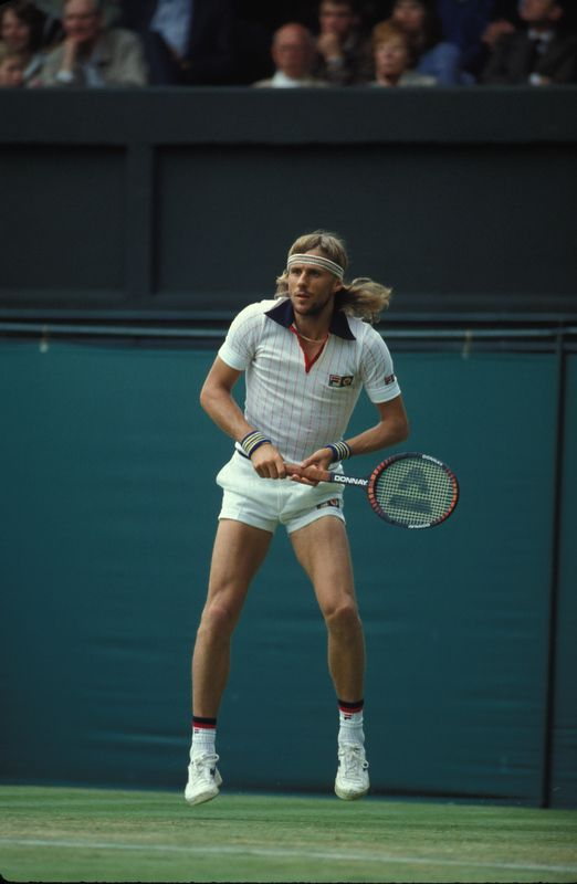 Borg and those crazy 70u0027s tennis shorts P  sc 1 st  Pinterest & Coolest pictures of pros
