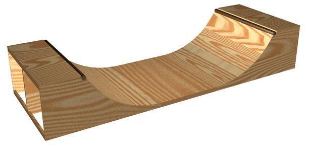 DIY 3ft. Halfpipe | Skateboard Ramp Plans | Skateboard ...