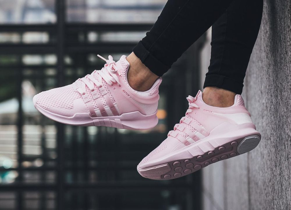 White Pink  mujer Adidas EQT zapatos