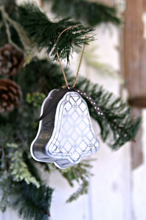 Silver Bells Christmas Decorations Silver Bell Christmas Ornaments Handmade With Love  Christmas