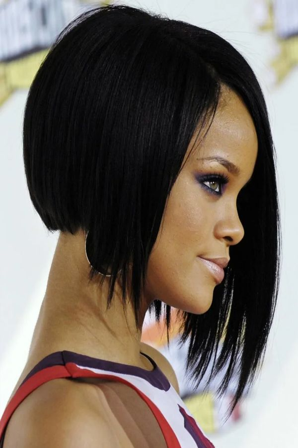 Stylish Bob Haircut Ideas For Girls Rihanna Short Hair Bob Haircut Black Hair Rihanna Hairstyles
