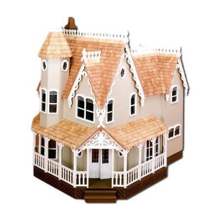 4-3//4 X 1-1//2 1:12 Blue Dollhouse Miniature 6 Pair Louvered Window Shutters