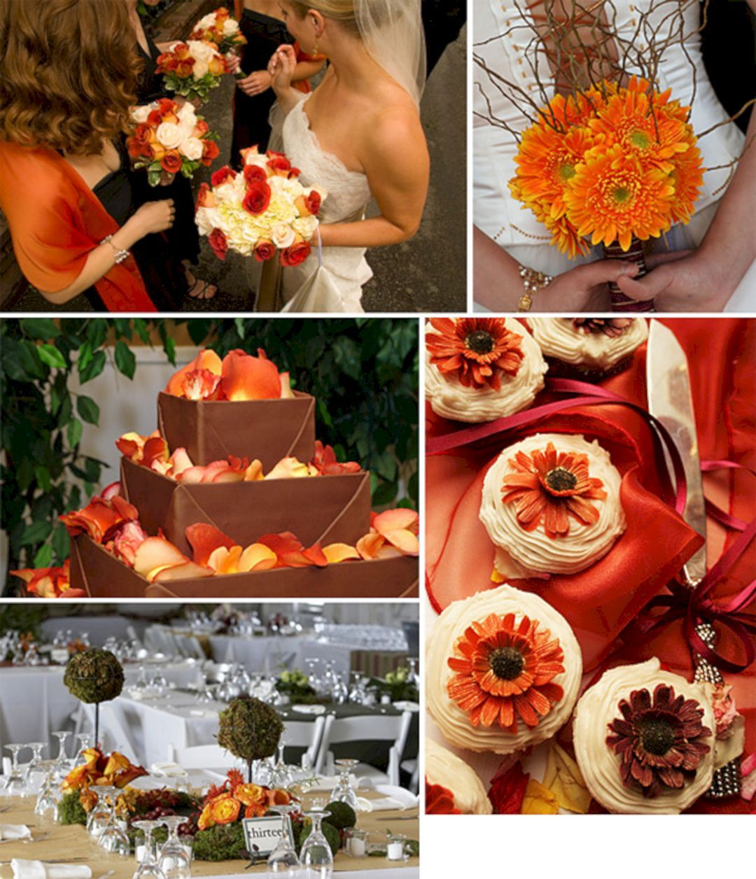 Fall outside wedding decoration ideas   Beautiful Vintage Fall Wedding Colors Ideas  Vintage fall