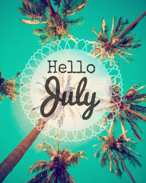 Immagine Di July Beach And Summer Hello July Hello July Wallpapers Month Wallpaper Cute hello july wallpapers