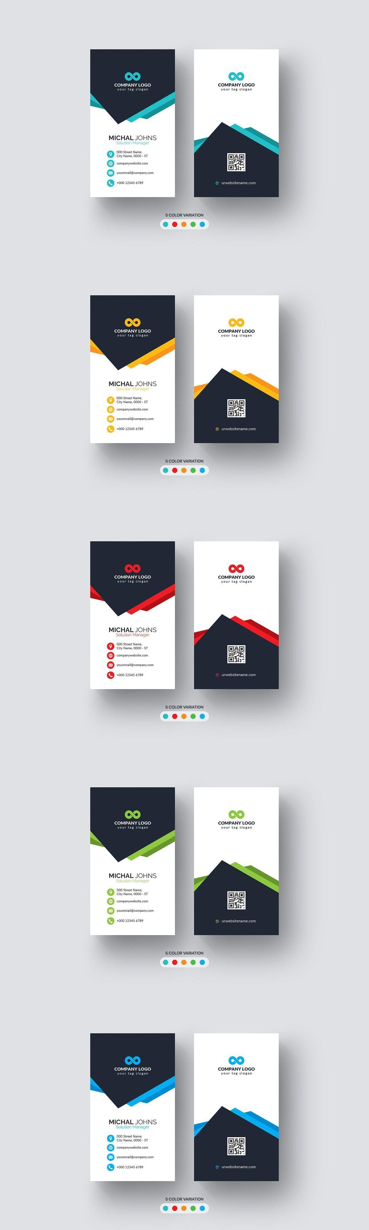 Creative Modern Business Card Freelance Business Card Modern Business Cards Landscaping Business Cards