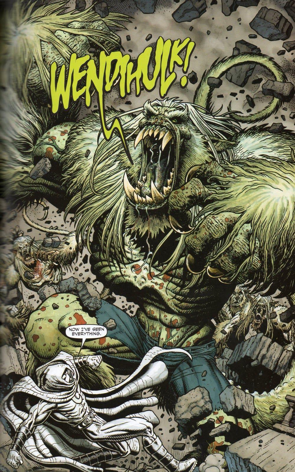 Image detail for -Arthur Adams: Hulk: Red & Green TPB