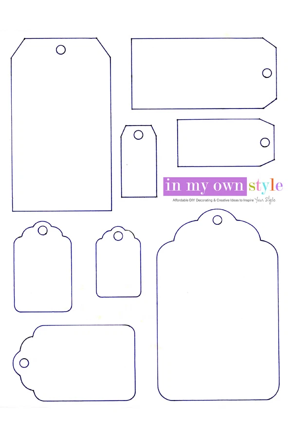 Free Printables Art Craft Gallery Free Printable Blank Gift Tags Gift Tag Template Free Printable Printable Tags Template