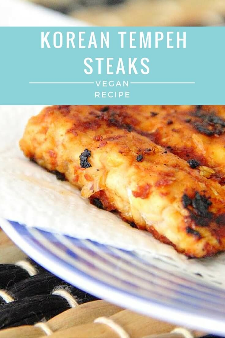 Korean Tempeh Steaks