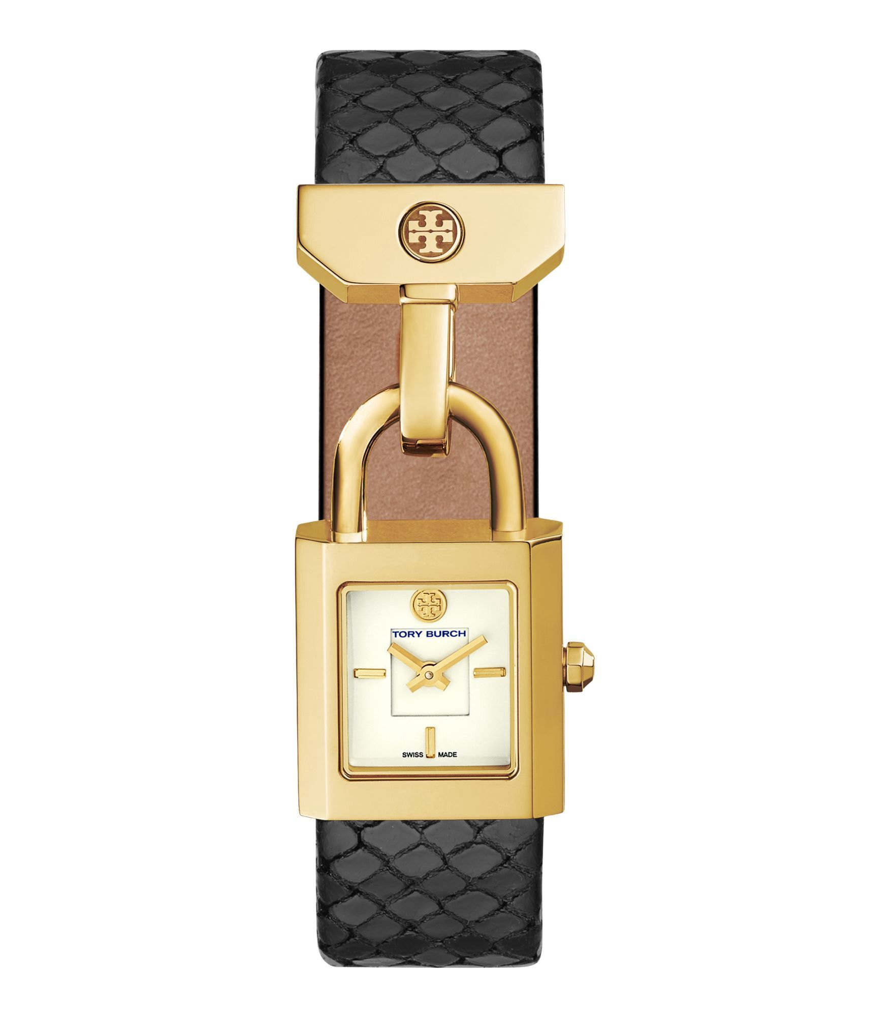 Tory Burch Tory Burch Surrey Leather Strap Watch, available at