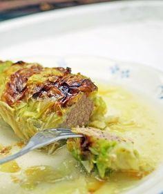 stuttgartcooking: Krautwickel mit Kartoffel-Püree