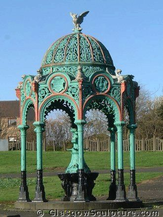 Bailie James Martin Memorial Drinking Fountain Glasgow Green