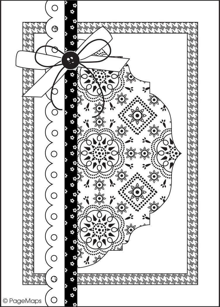 Скетчи для скрапбукинга новогодние открытки