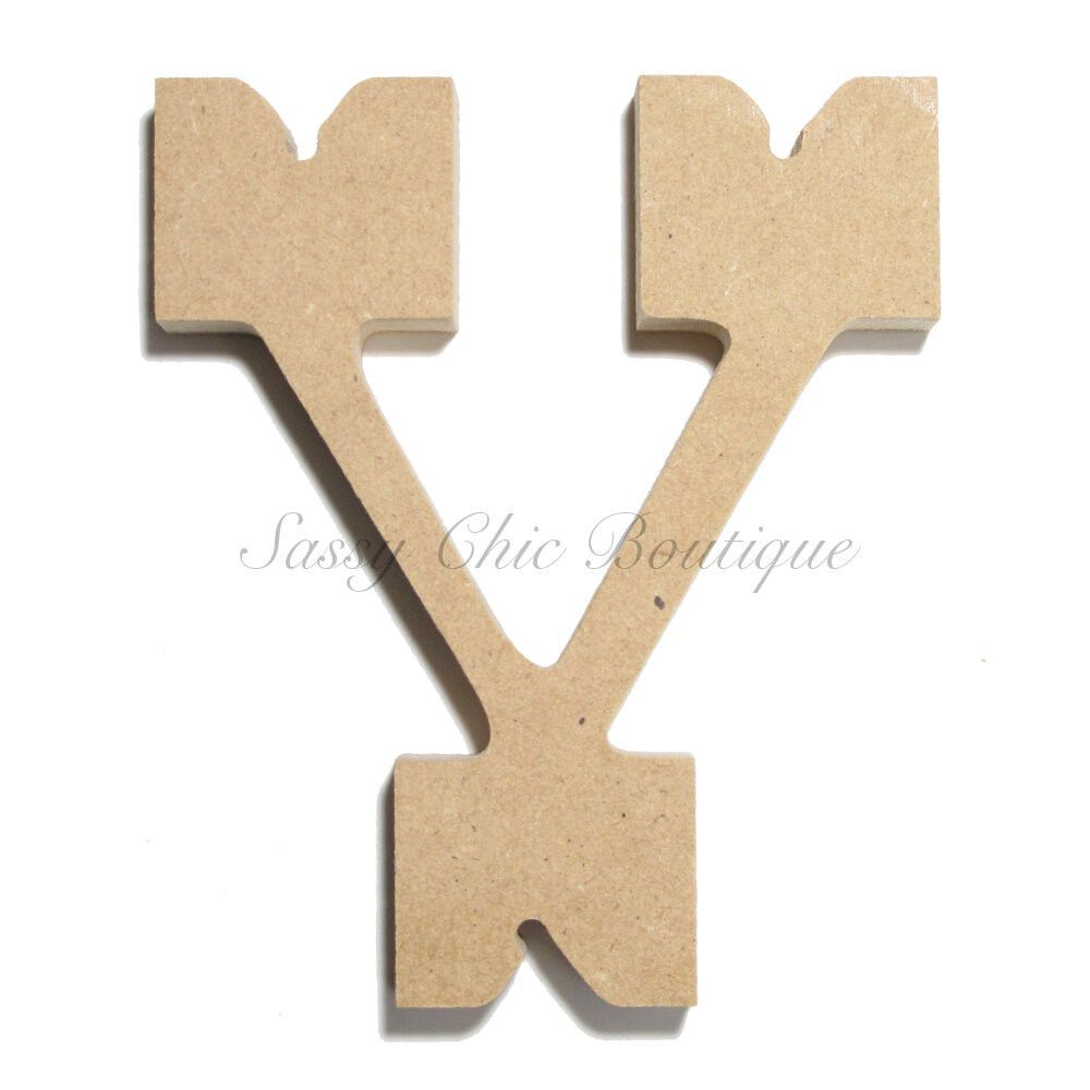 Lovely Wooden Letters with Pictures