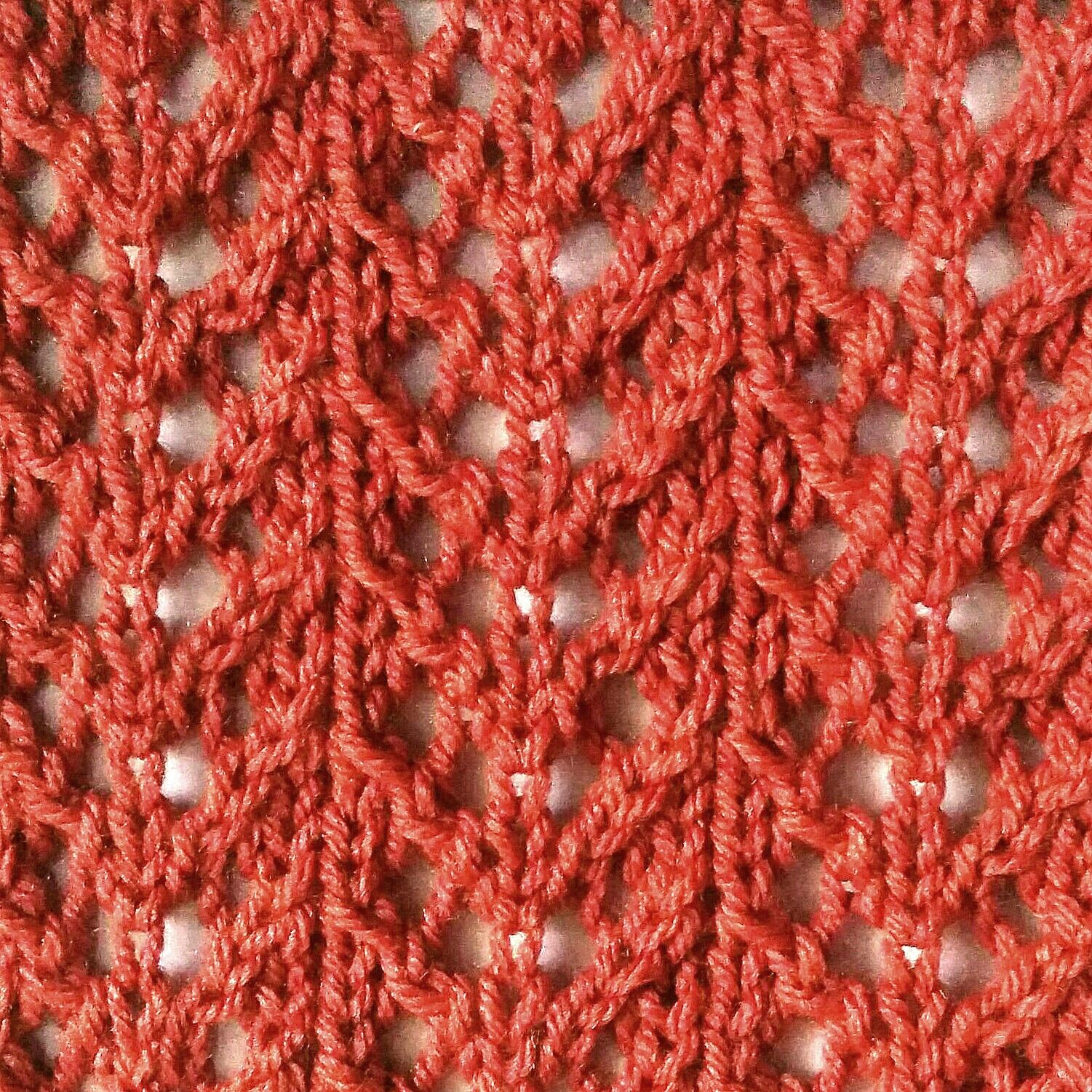 Requiring Only Simple Knitting Techniques And Done In A 4 Row Repeat