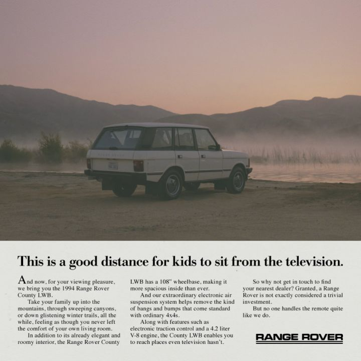 Fields Land Rover >> From Landrover Better Safe And Adventurous Rangerover