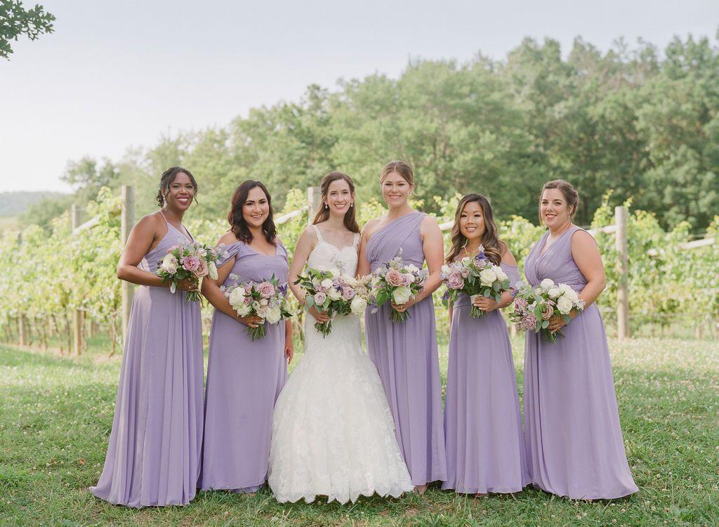 2019 Weddings Bridesmaid Dresses In 2020 Bridesmaid Gown Wedding Lavender Bridesmaid