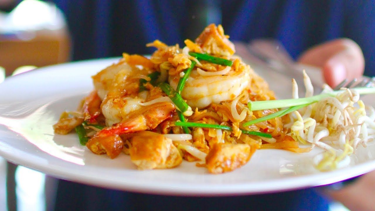 Massive Thai Street Food Tour In Krabi Thailand Best Pad