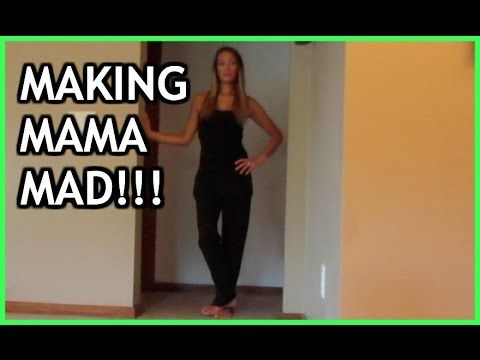 MAKING MAMA MAD!- DAILY VLOG 214