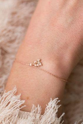 als blickfang schwingen kleine perlen an diesem #armband I NEWONE-SHOP.COM