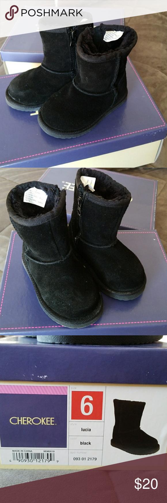 Toddler girl boots! Toddler girl black