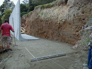 Murs De Soutenement Et Blindages Mur De Soutenement Mur Exterieur Peinture Mur Exterieur