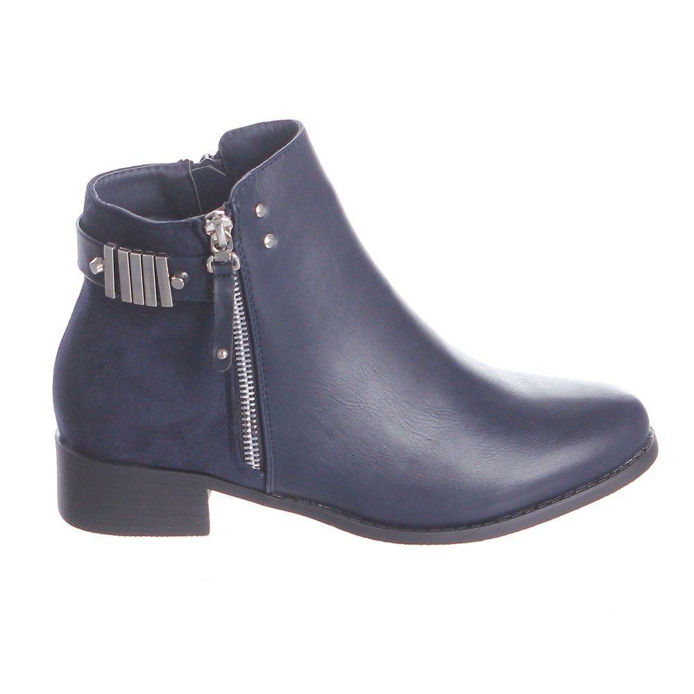 femme aspect daim Marron Des bottes Bleu Noir 3OINZ1p