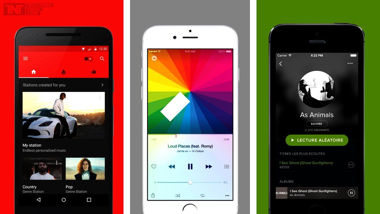 Apple Music Vs. Spotify Vs. YouTube Music Did Google