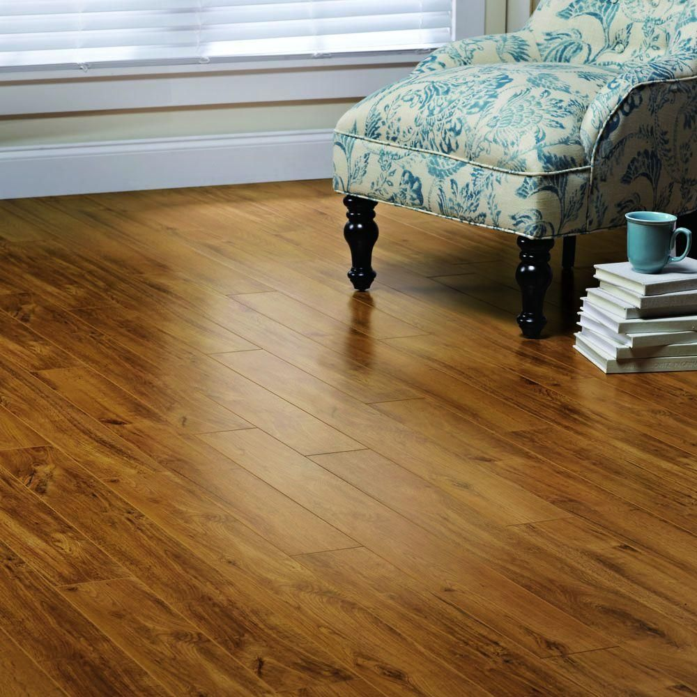 Home decorators collection medium oak 12 mm thick x 4 3 4 in