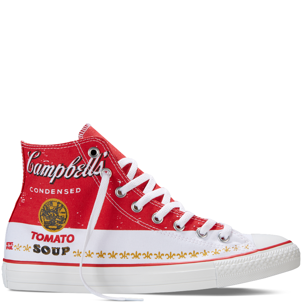baeb39542084 Chuck Taylor All Star Andy Warhol casino white