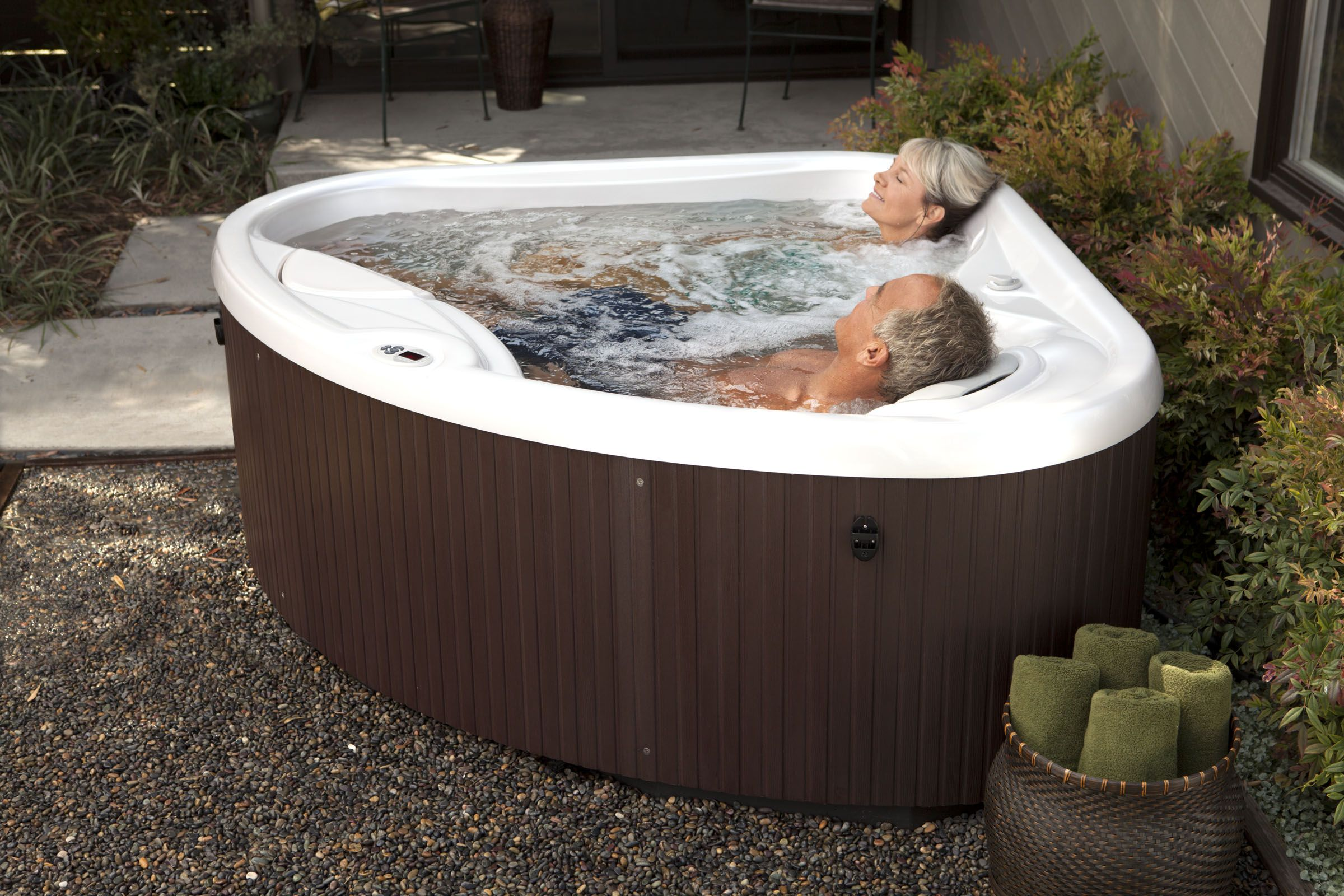 Recharge With A Hotspringspas Compact Hot Tub Perfect