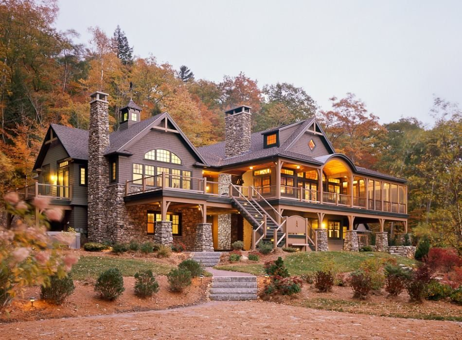 Lake House Maine My Dream Home Beautiful Homes House Exterior