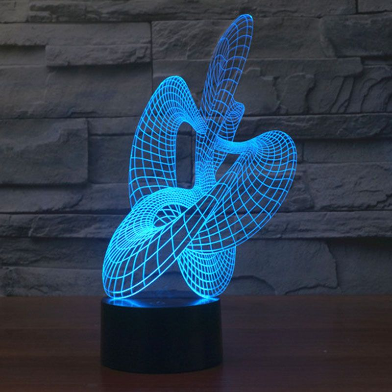 Aliexpress Com Buy Artwork Dancer Led Lighting 7 Color Changing Night Light For Bedroom Novelty Led Light For Gifts 3d Illusion Lamp Night Light 3d Led Lamp