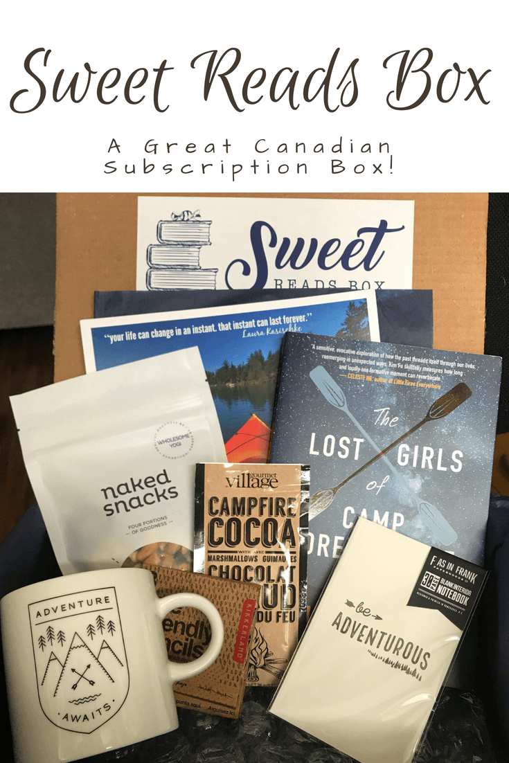 The Perfect Canadian Subscription Box Sweet Reads Box