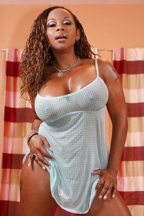 Ebony Pornstar schoonheid