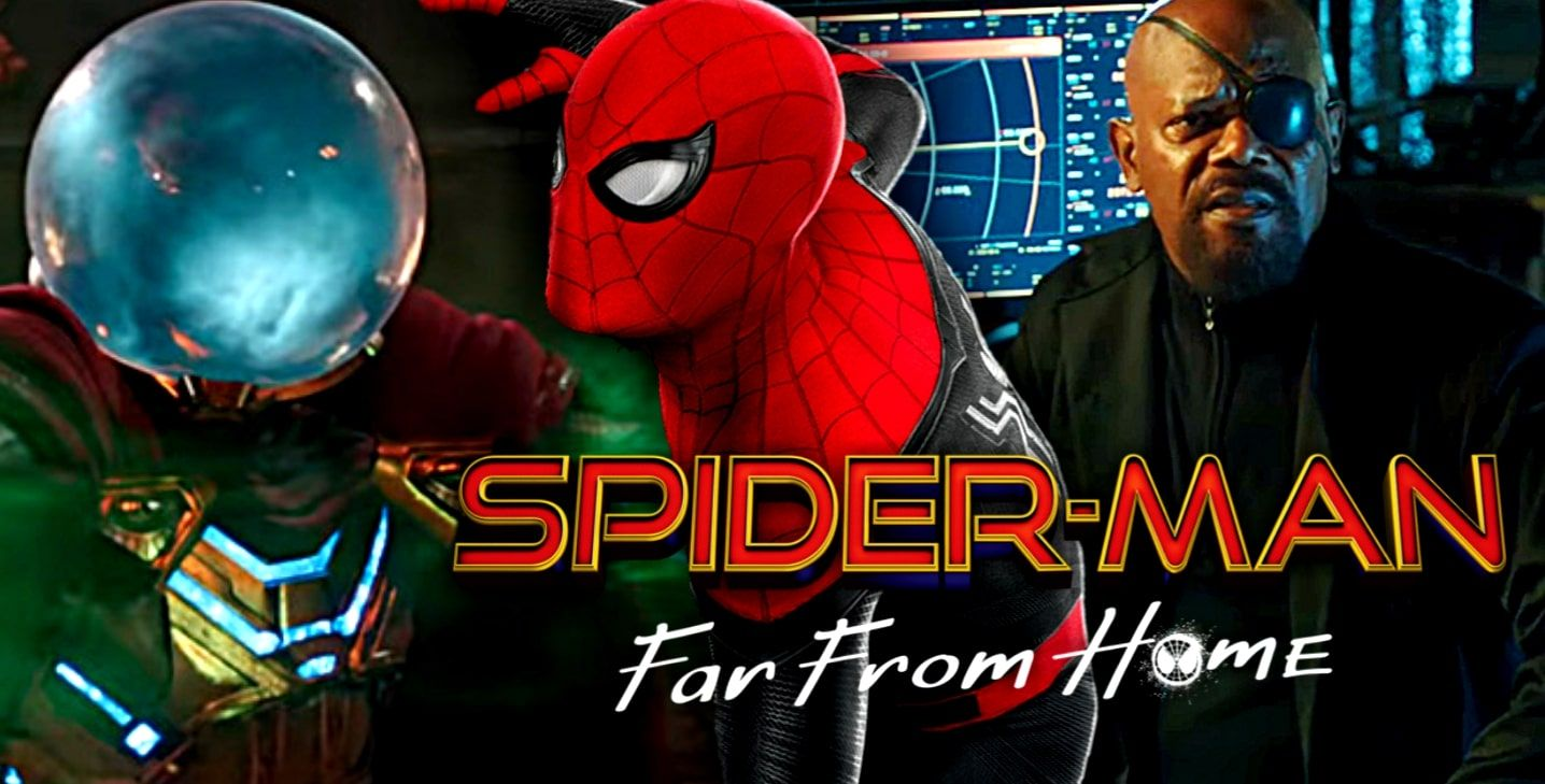 Marvel Avengers superhero SpiderMan Far From Home
