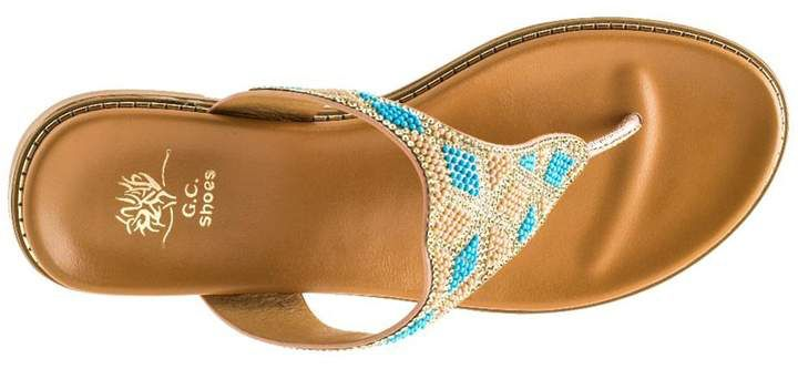 Good Choice New York Dayna Beaded Flat Sandal hVka5M