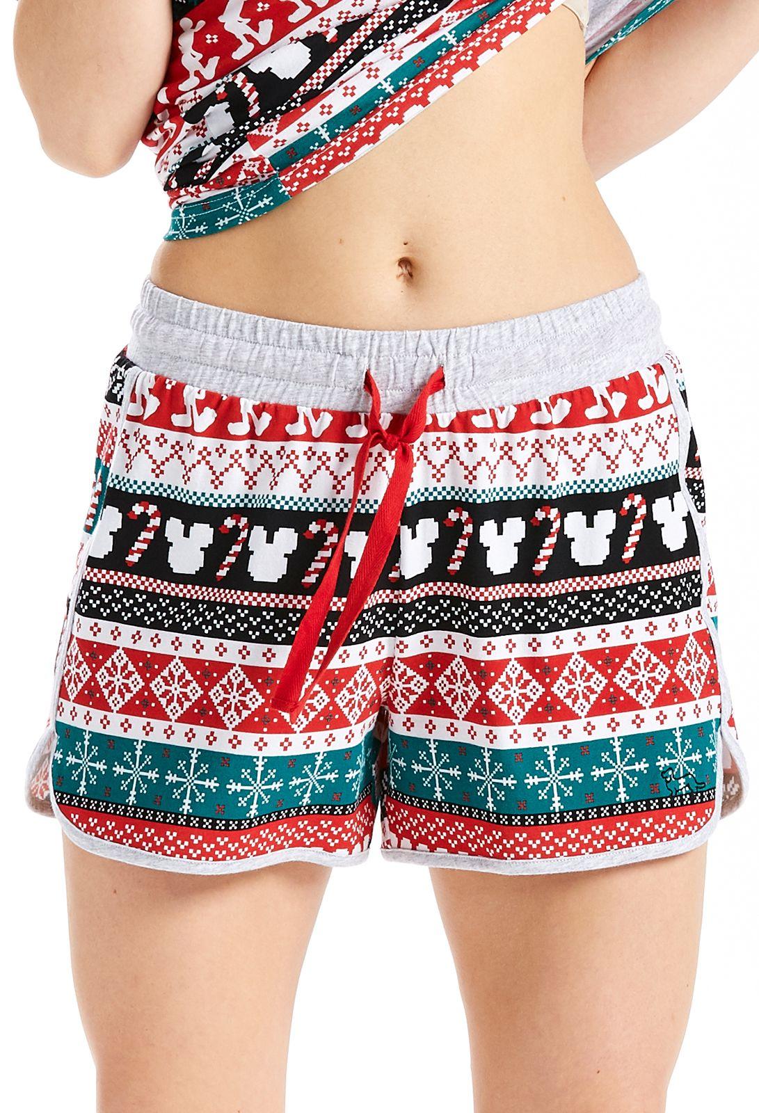 Xmas Disney Mid Short Peter Alexander Pajama shorts