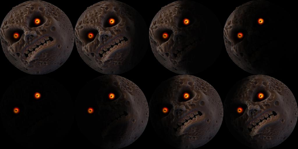 Moon Phases Png 1024 512 Majoras Mask Moon Pumpkin Carving Carving