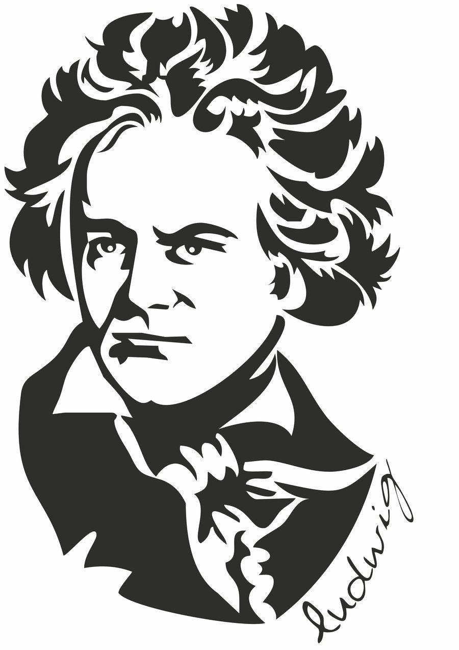 Ludwig Beethoven by mannoel.deviantart.com on @deviantART