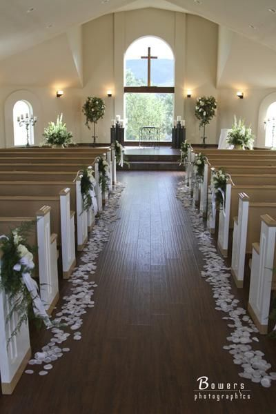 Simply Beautiful Chapel Setting With Amazing View Three Trees In Littleton Colorado