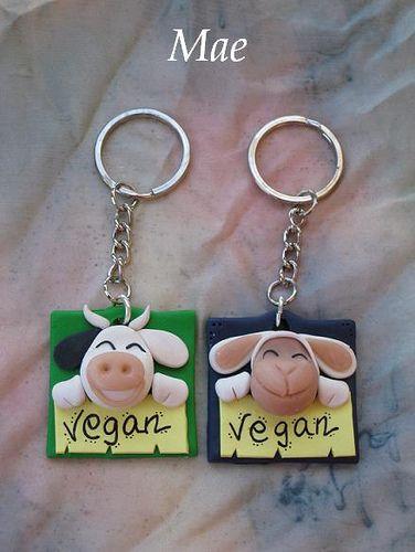 Llaveros veganos | por Crea tu mundo