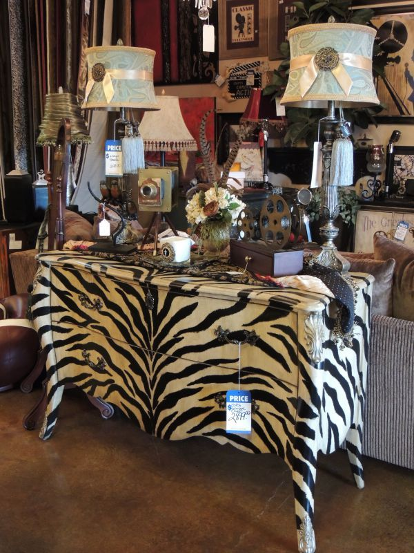 Living | Western Heritage U0026 The Design Center · Weatherford TexasZebra  DecorBuffet HutchRustic ...