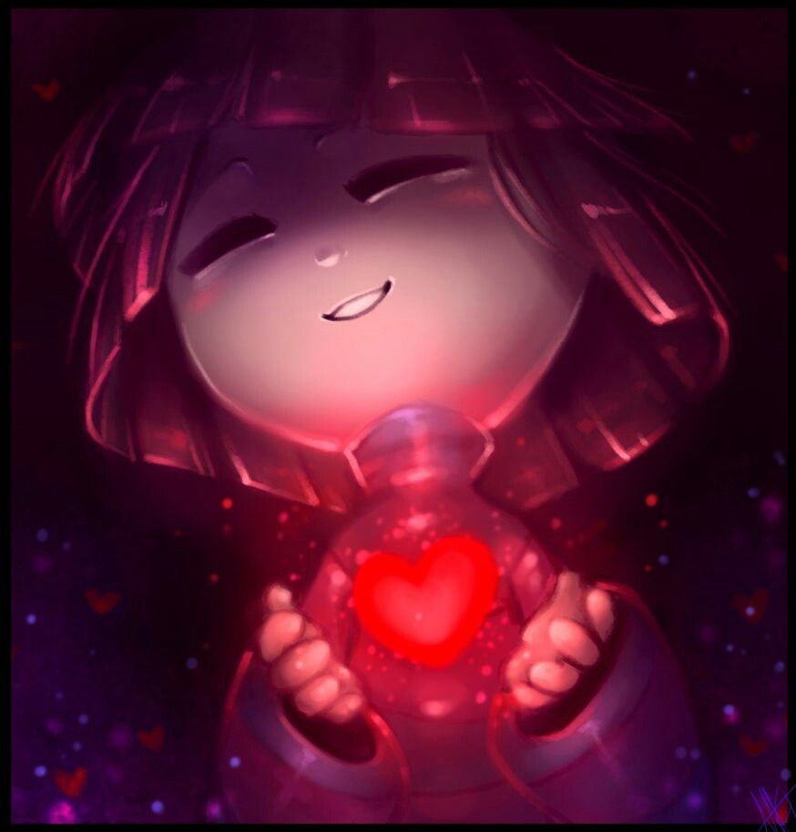 Frisk. You filled with determination