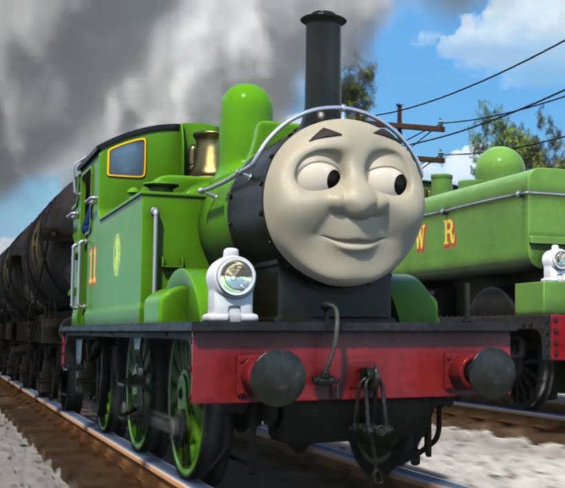 Oliver Thomas And Friends Western Tanks Thomas The Tank Engine