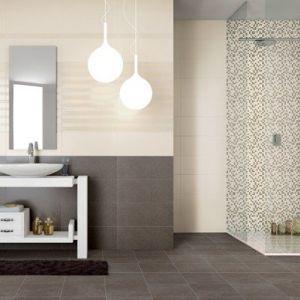 Piastrelle per rivestimento bagno e cucina effetto pietra moderno ...