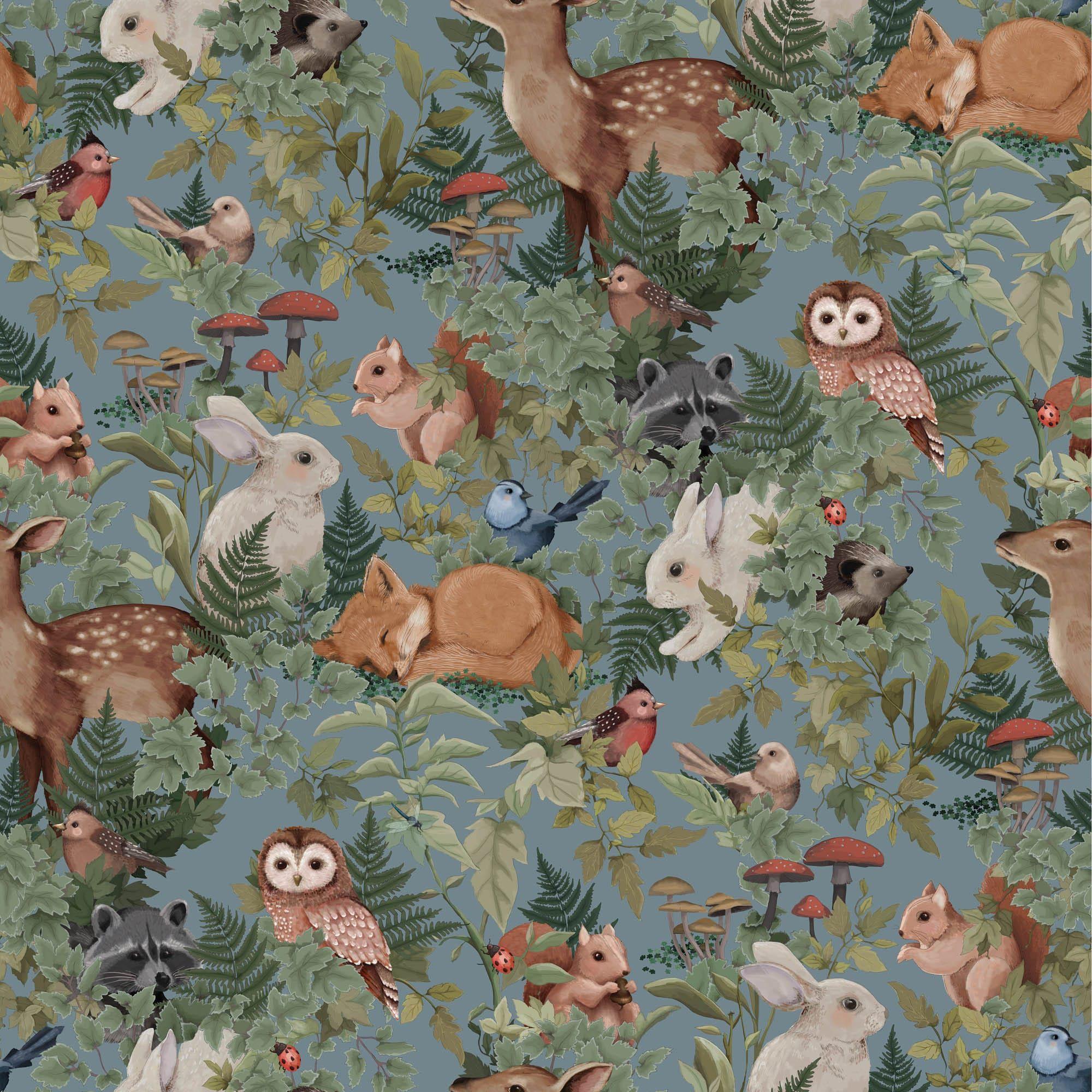 Jimmy Cricket Woodlands Sample Wallpaper - Trouva