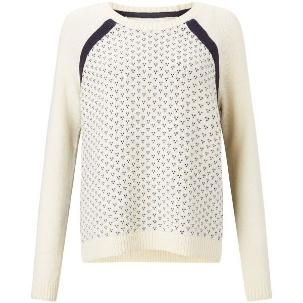 Collection WEEKEND by John Lewis Fair Isle Dot Jumper, Ivory (490 ...