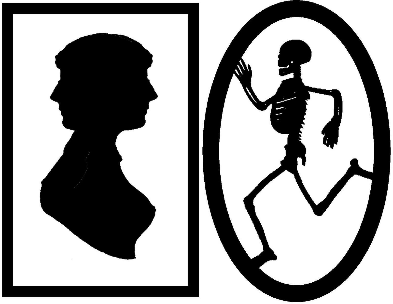 everyday mom ideas framed creepy silhouette decorations free halloween printable