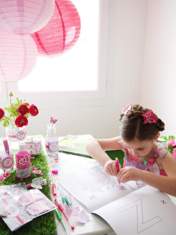 Woodland Fairy Pixie themed party