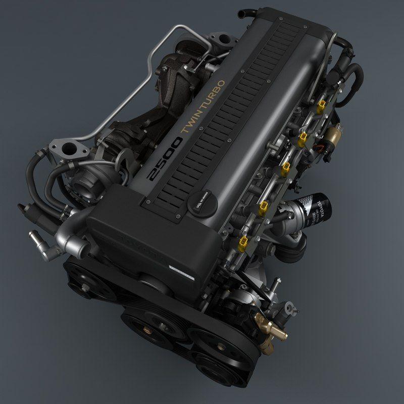 lite engine 1jz-gte 3d max | Engine | Engineering, Car